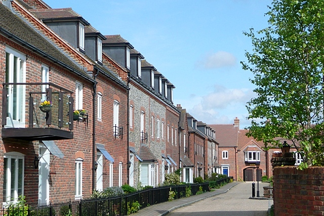 Buildings off High Street