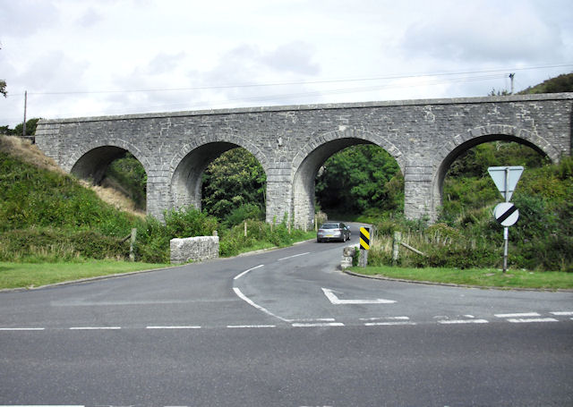 Railway Viaduct, Corfe Castle