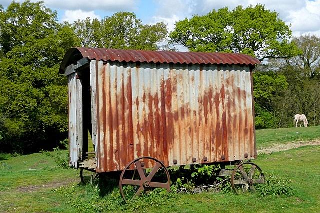 The storage hut