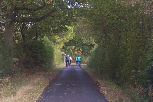 Cyclists on Cripple Hill