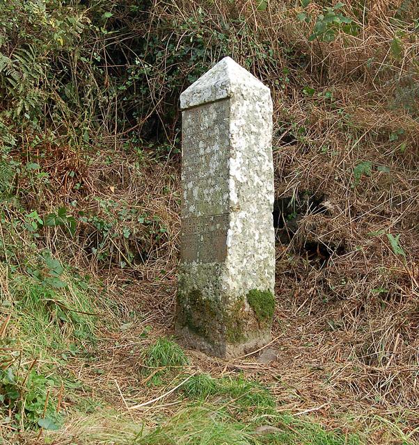 Memorial stone to Richard Williams, Solva