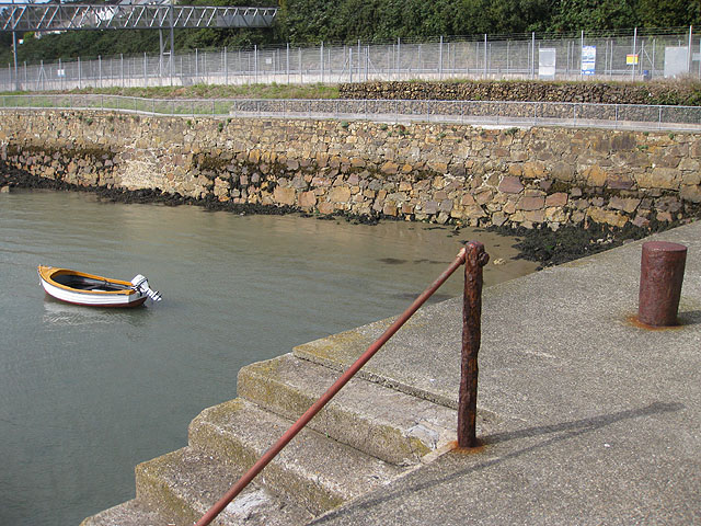Short quay, Fishguard Harbour