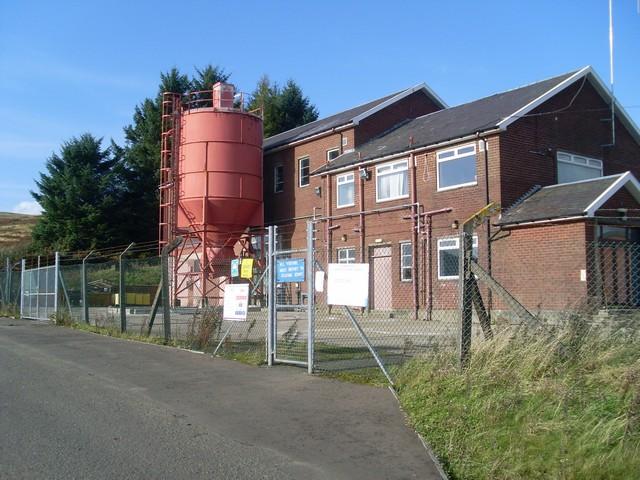 Burncrooks Reservoir Water Filter Station