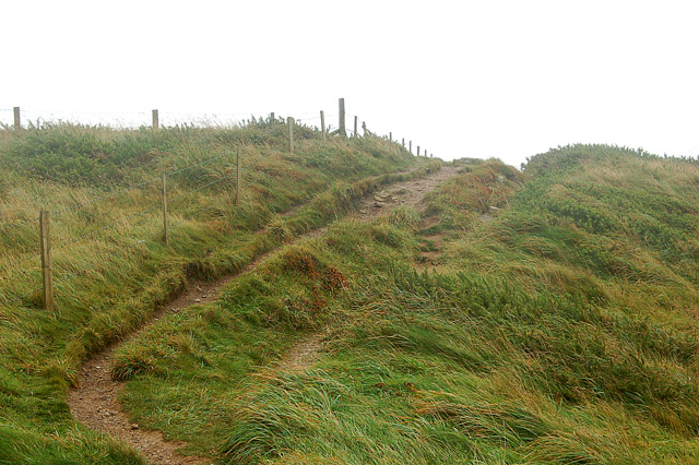 Coastpath at Pen y Cyfrwy headland (1)