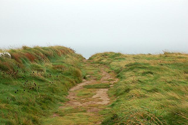 Coastpath at Pen y Cyfrwy headland (2)