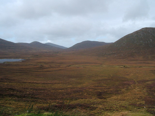 Hills beyond Loch na Moracha