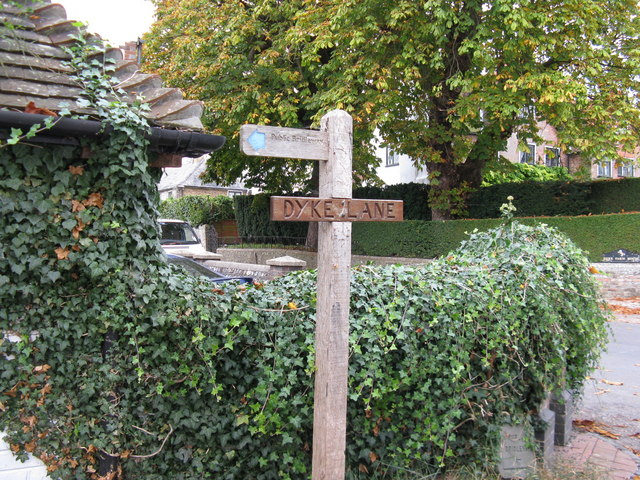 Bridleway with a name