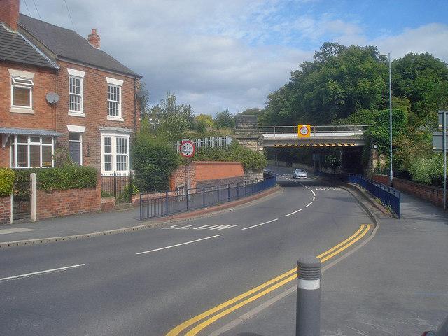 Railway bridge over Tamworth Road