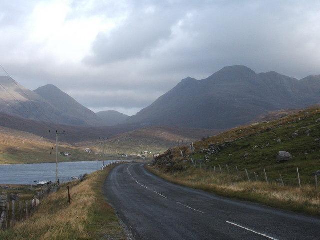 Main road from Tarbert