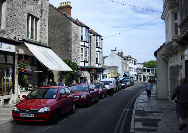 Swanage High Street