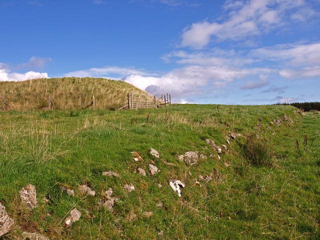 Motte, near Milton Bridge, Kilmalcolm.
