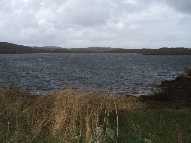 Loch and land near Callanish Farm