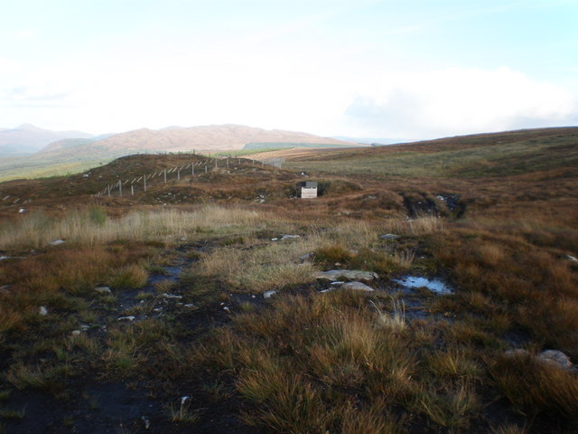 Moorland East of end of track