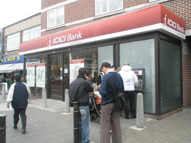 ICICI bank in South Road