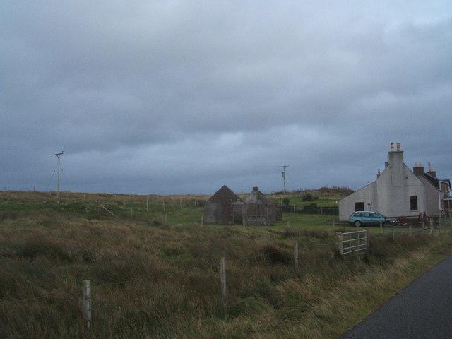 Road in Gress village