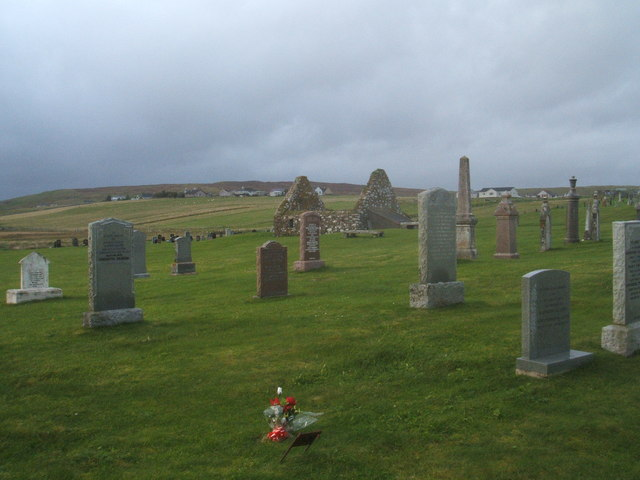 Cemetery, Griais, Lewis
