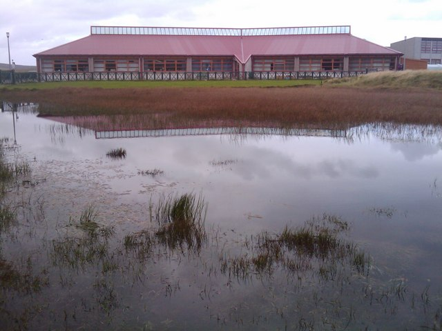 Trolla Water and Baltasound Junior High School