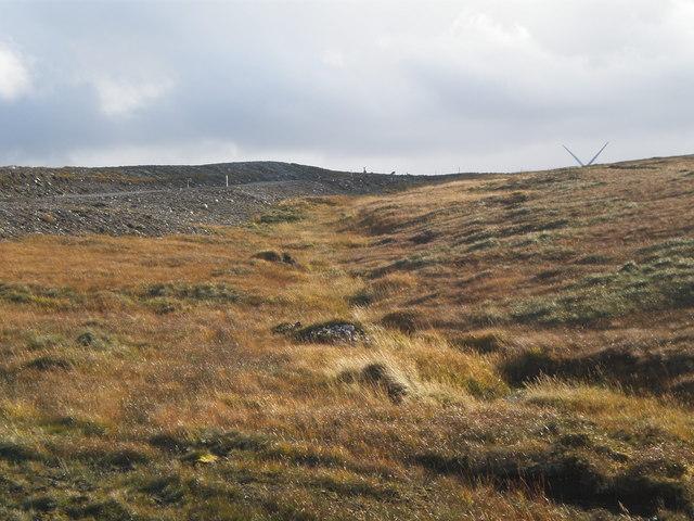 Wind Turbines across Moorland