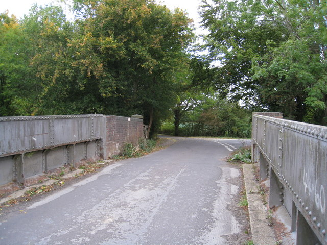 Narrow road bridge