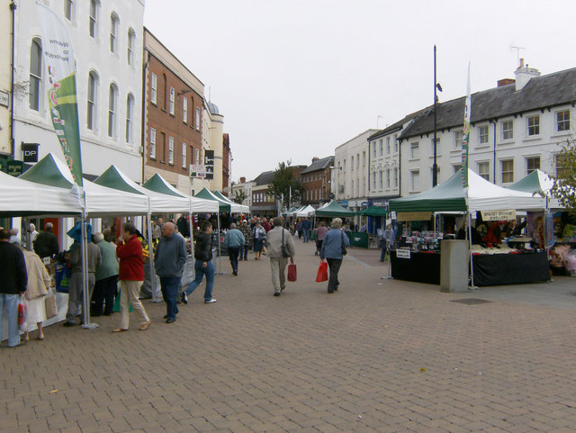 New Street Market, High Town, Hereford