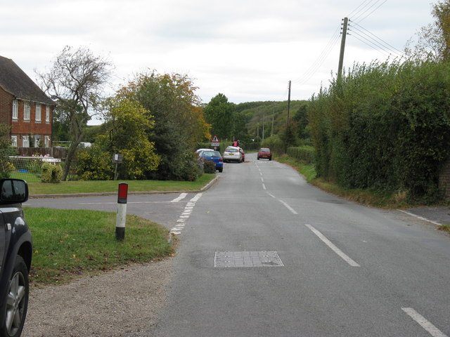 Country road north out of Poynings