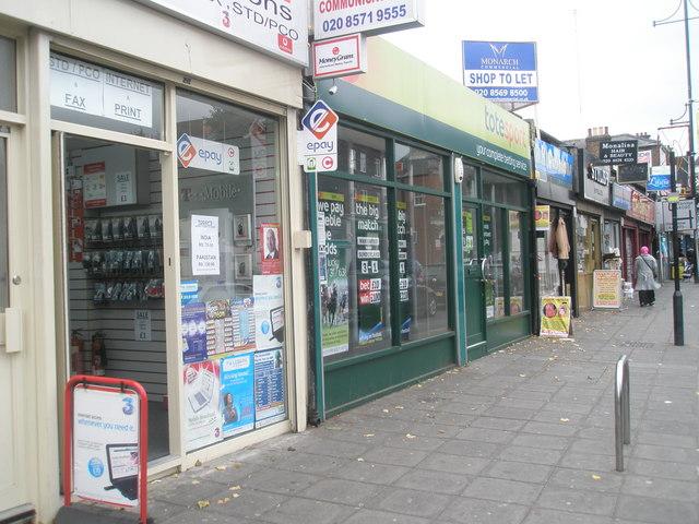 Bookies in the High Street