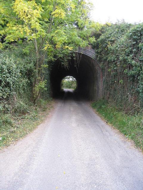 Classic brick tunnel