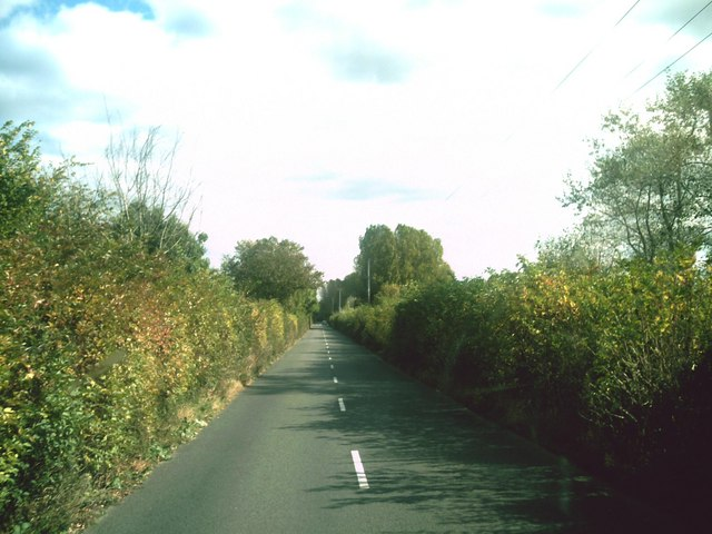 Straight stretch of the B4449