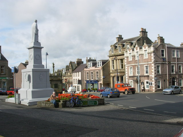 Selkirk - A different view of the Town Square