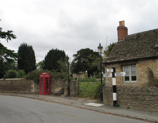 Telephone Box on West Street, Lacock