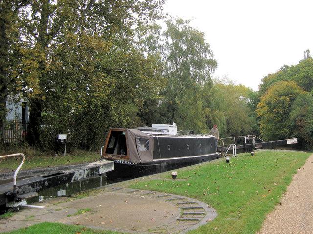 Grand Union Canal: Bush's Lock No 50, Northchurch