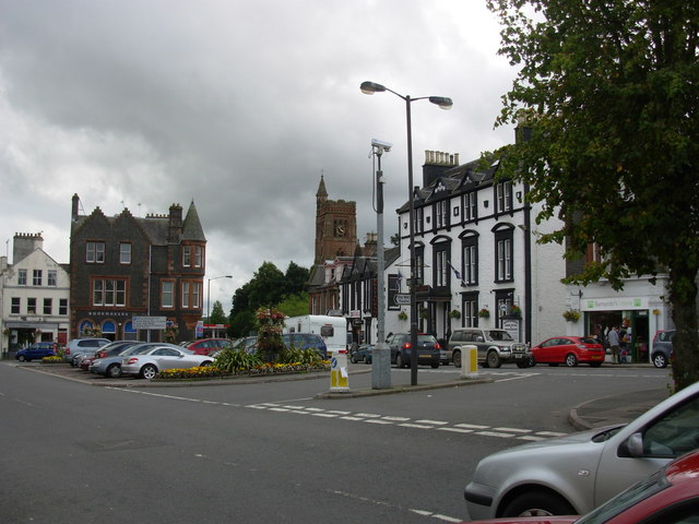 Moffat - southern end of High Street