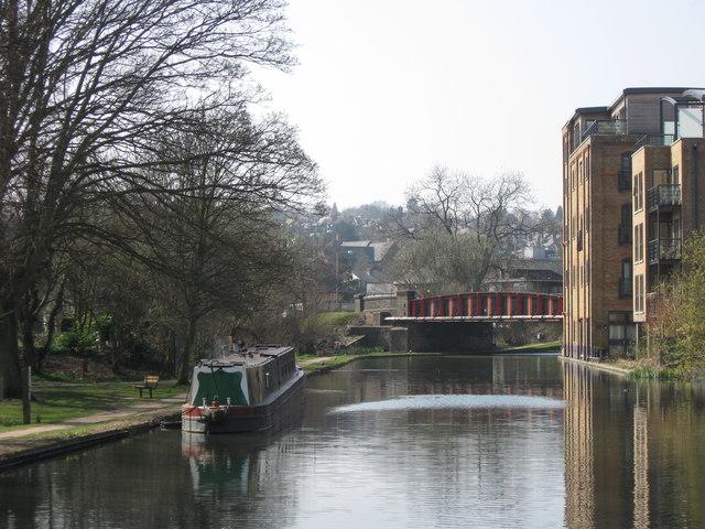 Grand Union Canal: Lower Kings Road Bridge, Berkhamsted