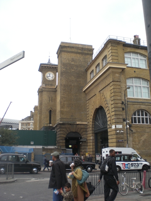 King's Cross Station, York Way N1