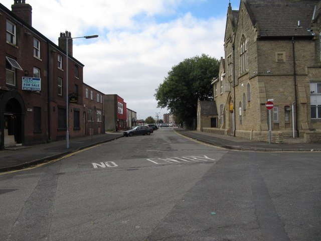 View down Crook Street