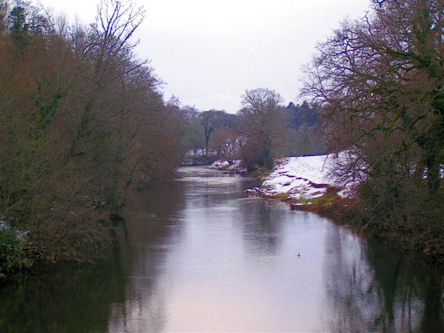 River from Glanusk bridge