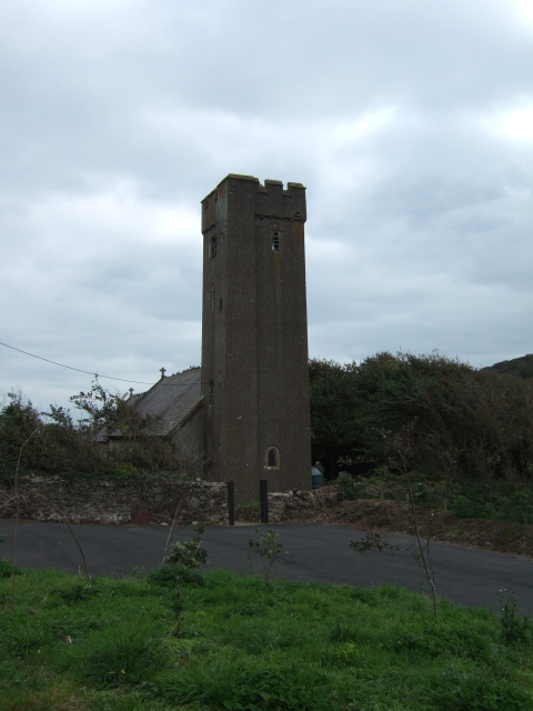 Dale church and car park