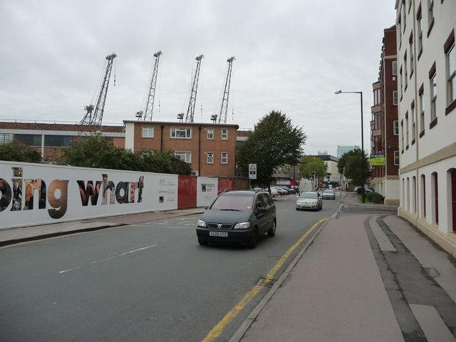 Bristol : Wapping Road & Wharf