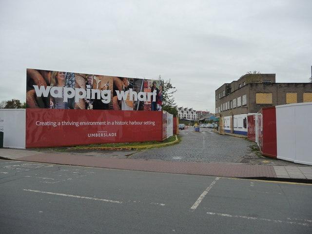 Bristol : Wapping Wharf