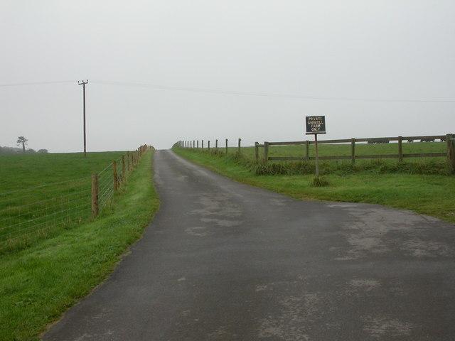Portesham, farm entrance