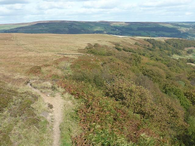 Erringden Moor and Broad Head Plantation, Mytholmroyd