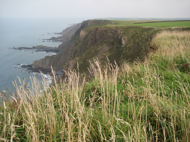 View from Mansley Cliff