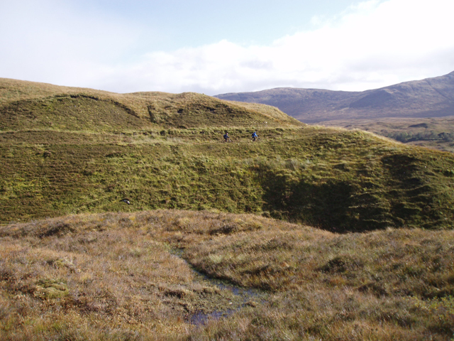 Moorland north of Dubh Lochan