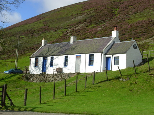 Miners Cottages at Wanlockhead