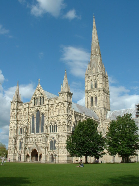 Salisbury cathedral from the south west
