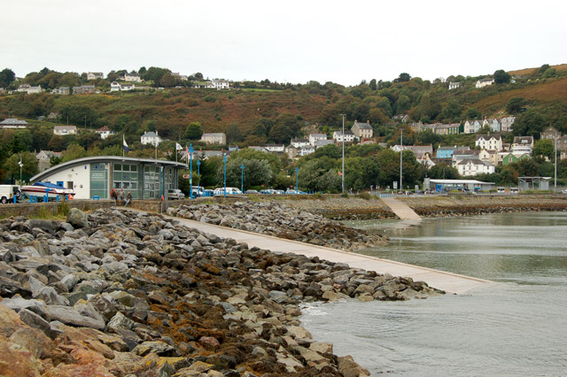 The foreshore at Goodwick
