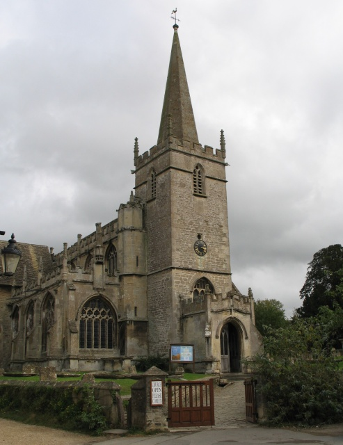 St Cyriac's Church at Lacock