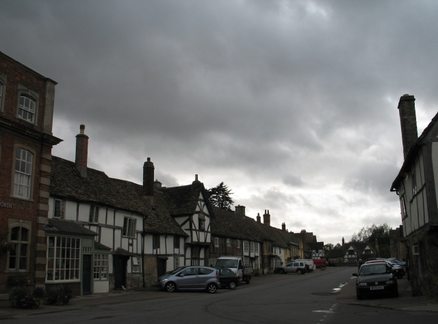 Lowering Sky at Lacock