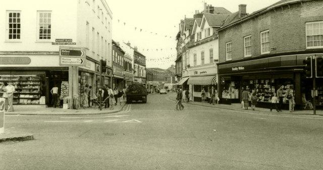 Bell Street in 1980