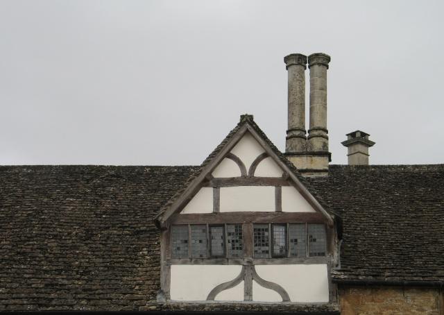 Timber-Framed Dormer at Lacock Abbey